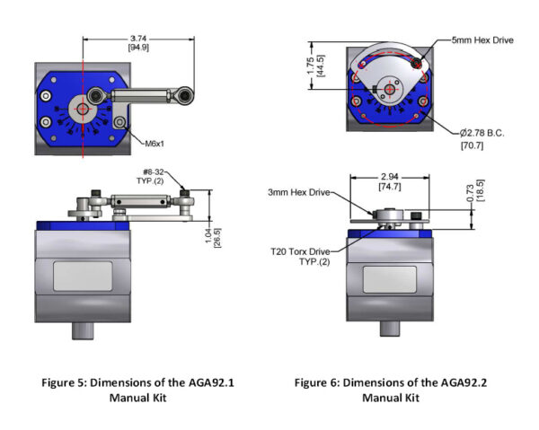 Siemens VKG Accessories AGA92.1 and AGA92.2