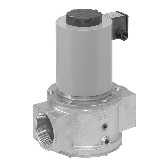 Dungs MV Single Solenoid Shutoff Valve Rp Threaded 5 Series