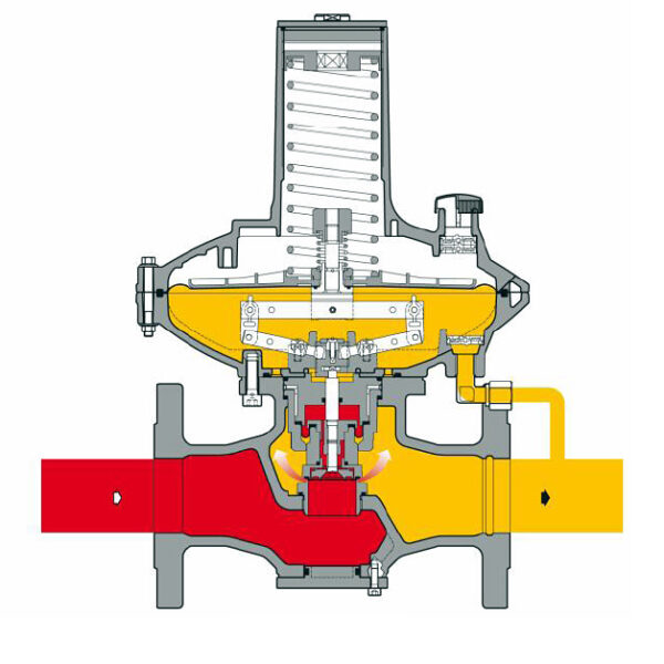 Pietro Fiorentini Dival 600 cutaway