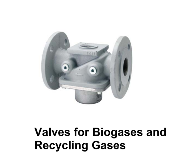 VRF Siemens Gas Biogas Recycle Single Gas Valve Bodies