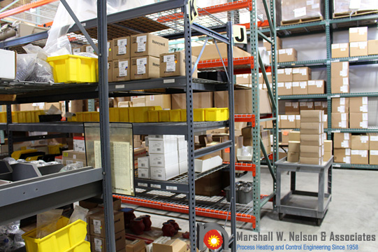 Industrial Combustion Equipment Warehousing Shipping
