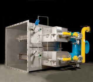 Honeywell Eclipse Linnox ULE Air Heating Gas Burner application
