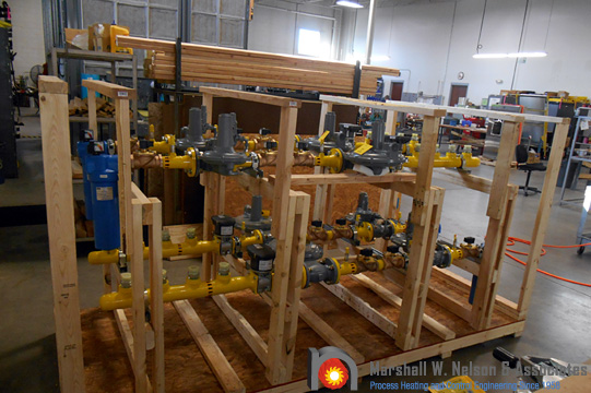 Combustion Gas Valve Train Assemblies Preparing to Ship