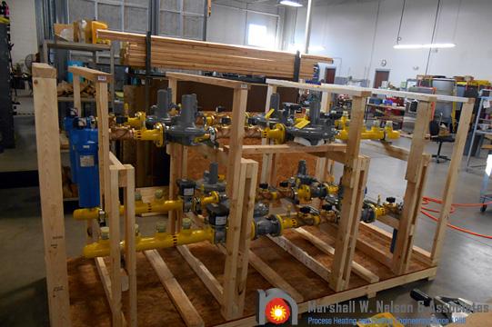 Combustion Gas Valve Train Assemblies Preparing to Ship