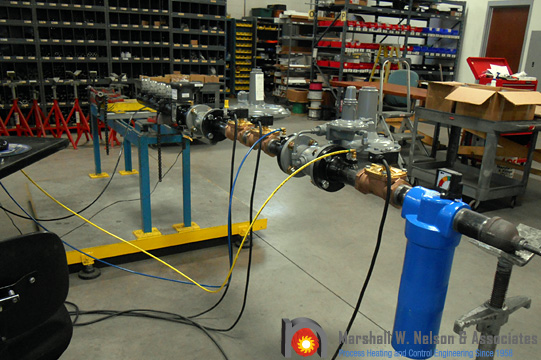 Combustion System Gas Valve Train Assemblies Testing