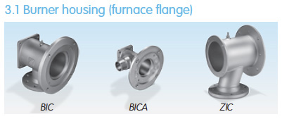 Burner Housing for BIC and ZIC