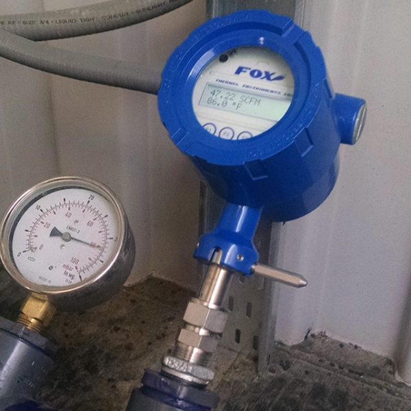 Fox Thermal Model FT1 Flow Meter