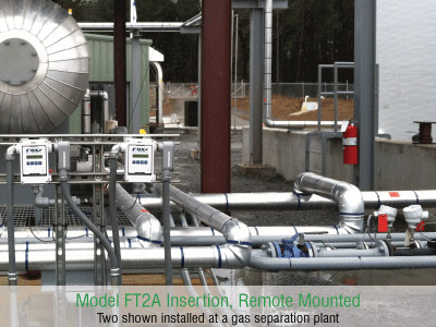 Fox Thermal Model FT2A Flow Meter