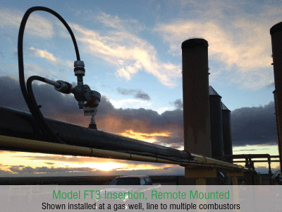 Fox Thermal Model FT3 Flow Meter Application