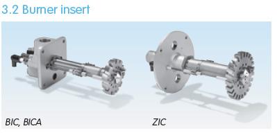 Honeywell Burner Insert BIC and ZIC