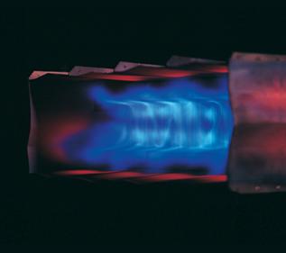 Honeywell Eclipse Minnox Gas Burner Flame