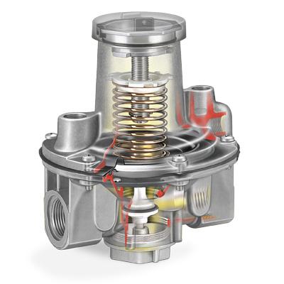 Honeywell Kromschoder GDJ Gas Pressure Regulator cut out