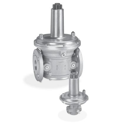 Honeywell Kromschoder Gas pressure regulators VGBF