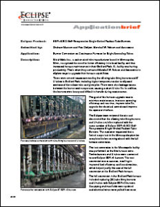 MWN Case Study Burner Conversion on Continuous Furnace