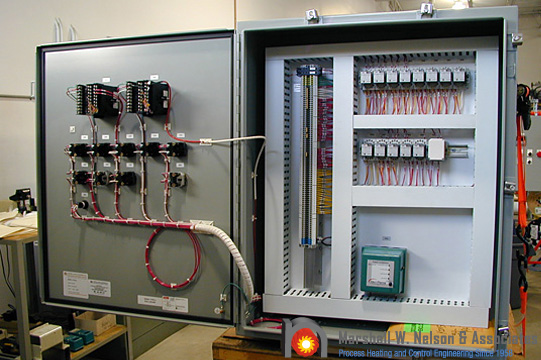 Industrial Custom Control Panel Application with Eclipse Flame Safety