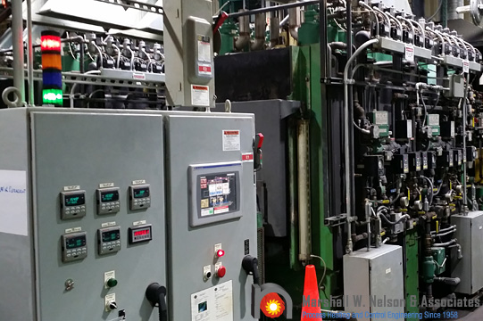 Industrial Control Panel Application