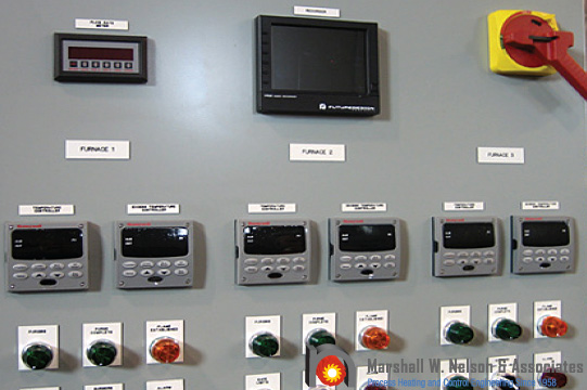 Industrial Custom Control Panel Application with Honeywell Displays