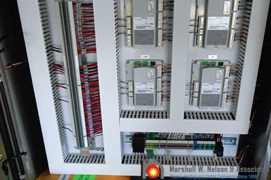 Industrial Custom Control Panel Application with Siemens LME
