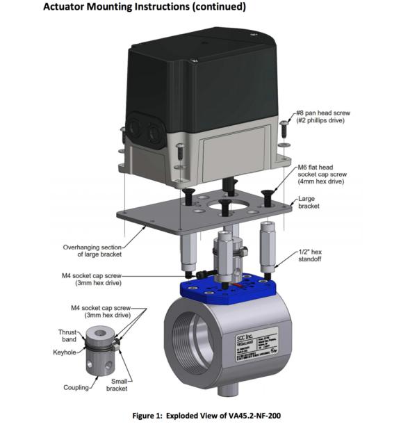 Siemens Valve Actuator Assembly VKG valve