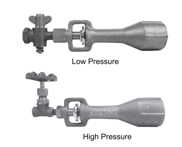 Pilot Mixers Low High Pressure