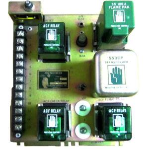 Protection Controls Equipment Protectofier 6642 Single Burner