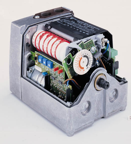 Siemens SQM5 Actuator Internal Components