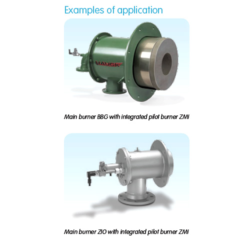 ZMI Pilot Burner with Main Burners