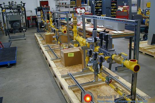 Unique Gas Valve Train Assemblies