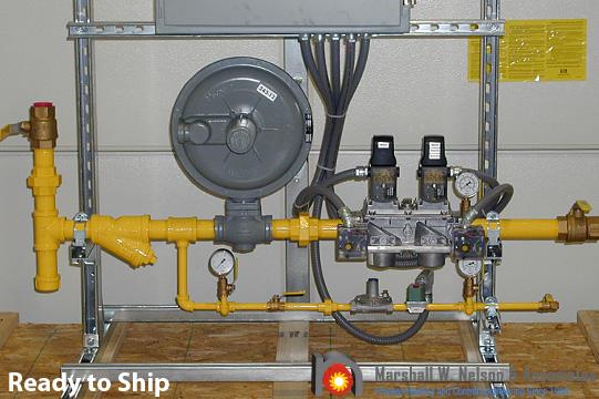 Industrial Combustion Gas Valve Train Assemblies