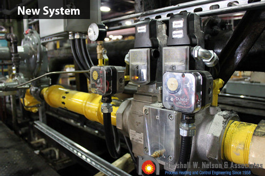 New Industrial Gas Valve Train Assembly