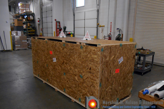 Industrial Combustion Equipment Crated