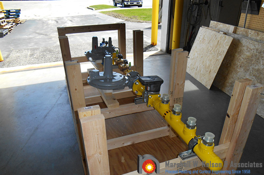 Industrial Combustion Equipment Assembly