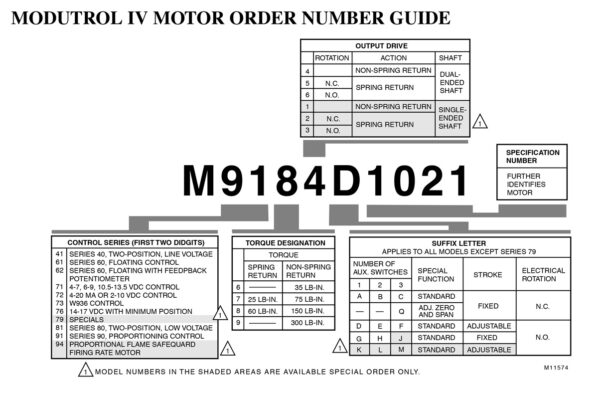 Honeywell Actuator Modutrol Guide