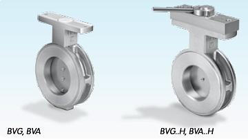 Honeywell Kromschroder BVG Industrial Butterfly Gas Valve comparison