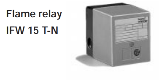 Honeywell Kromschroder Flame Relay IFW 15 T-N