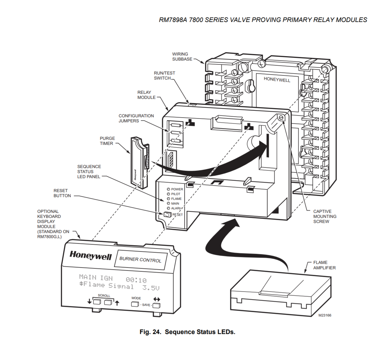 rm7895a honeywell burner control wiring diagram wiring library Wiring-Diagram Honeywell Burner Control 7840