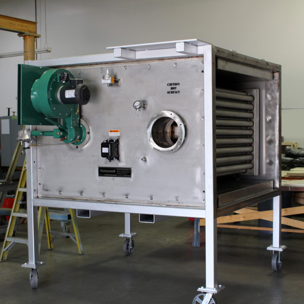 RHT Indirect Air Heater Assembled at Marshall W. Nelson