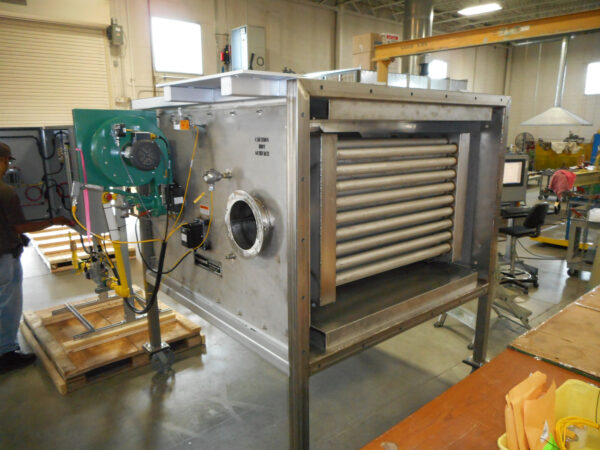 RHT Indirect Air Heater Final Assembly