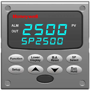 Honeywell 2500 Temperature Controller Interface