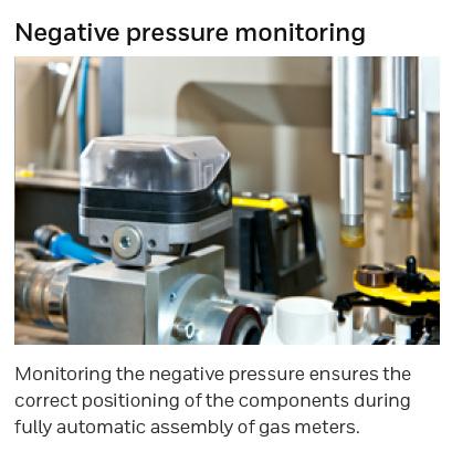 Honeywell Kromschroder DG Gas Pressure Switch Application