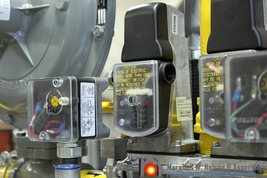 Siemens QP Gas Pressure Switch Application