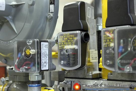Siemens QP Gas Pressure Switch Application