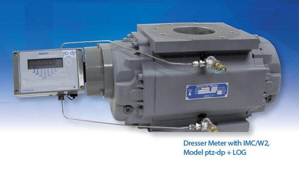 Dresser Roots Meter IMC/W2 Model PTZ-DP + LOG