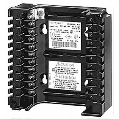 Honeywell Q7800A Panel Mount Wiring subbase for 7800 SERIES relay modules