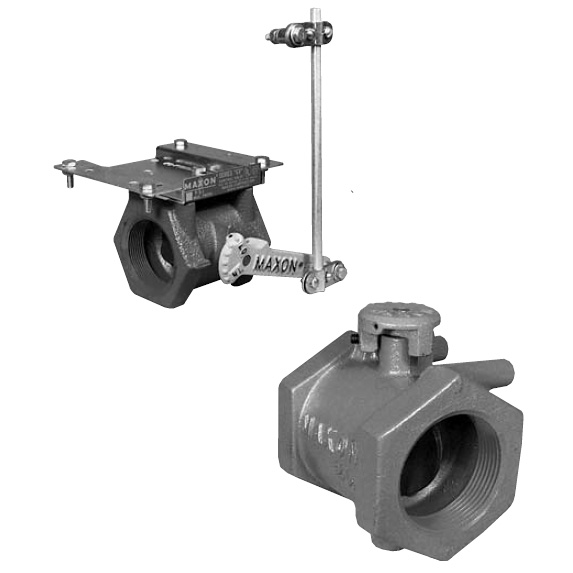Maxon CV and BV Series Butterfly Valves