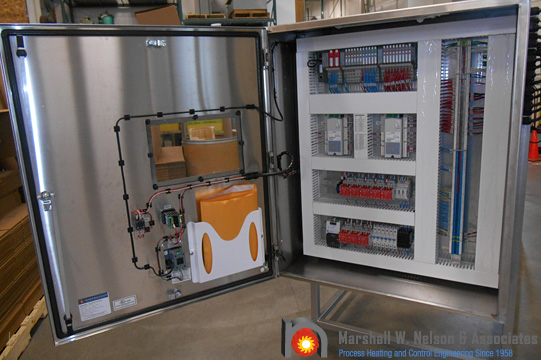 Industrial Stainless Steel Control Panel Application