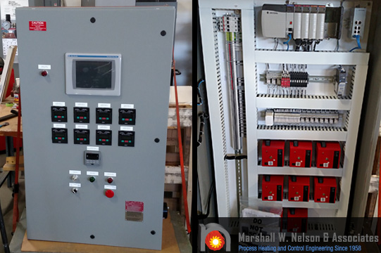 Industrial Control Panel Application with Fireye Products