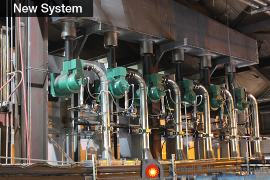 Industrial Combustion Burner Management System Eclipse Burners