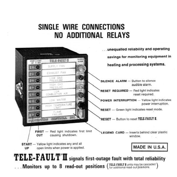 Protection Controls TELE-FAULT II details