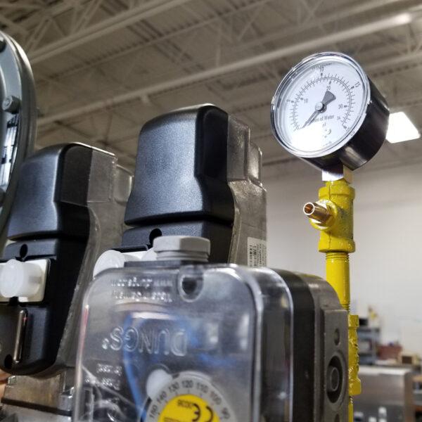 Pressure Gauge Gas Valve Train Application